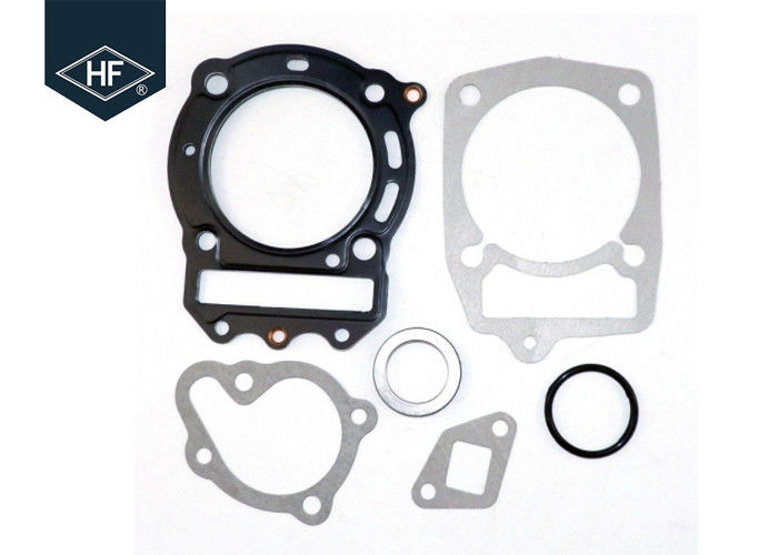 NC250 Balck Silver Head Gasket Set , Metal Anti Corrosion Motorcycle Gasket Kits