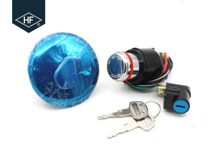 Durable Other Motorcycle Parts Round Aluminum Key Switch Tank Cover Lock Kits